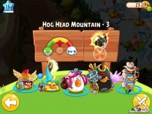 Angry Birds Epic Hog Head Mountain Level 3 Walkthrough