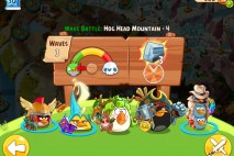 Angry Birds Epic Hog Head Mountain Level 4 Walkthrough