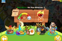 Angry Birds Epic Hog Head Mountain Level 5 Walkthrough