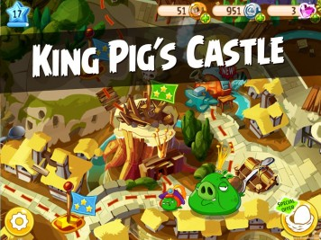 Angry Birds Epic King Pigs Castle Featured Image
