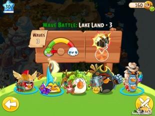 Angry Birds Epic Lake Land Level 3 Walkthrough