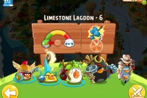 Angry Birds Epic Limestone Lagoon Level 6 Walkthrough