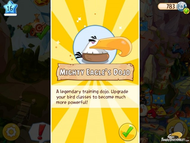 Angry Birds Epic Mighty Eagles Dojo Image