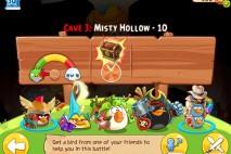 Angry Birds Epic Misty Hollow Level 10 Walkthrough   Chronicle Cave 3   Hazy Hollow