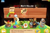 Angry Birds Epic Misty Hollow Level 2 Walkthrough | Chronicle Cave 3 | Hazy Hollow