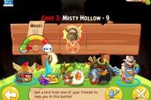 Angry Birds Epic Misty Hollow Level 9 Walkthrough | Chronicle Cave 3 | Hazy Hollow