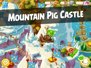 Angry Birds Epic Mountain Pig Castle Walkthrough