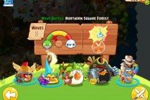 Angry Birds Epic Northern Square Forest Level 1 Walkthrough