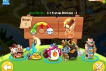 Angry Birds Epic Old Nesting Barrows Level 2 Walkthrough