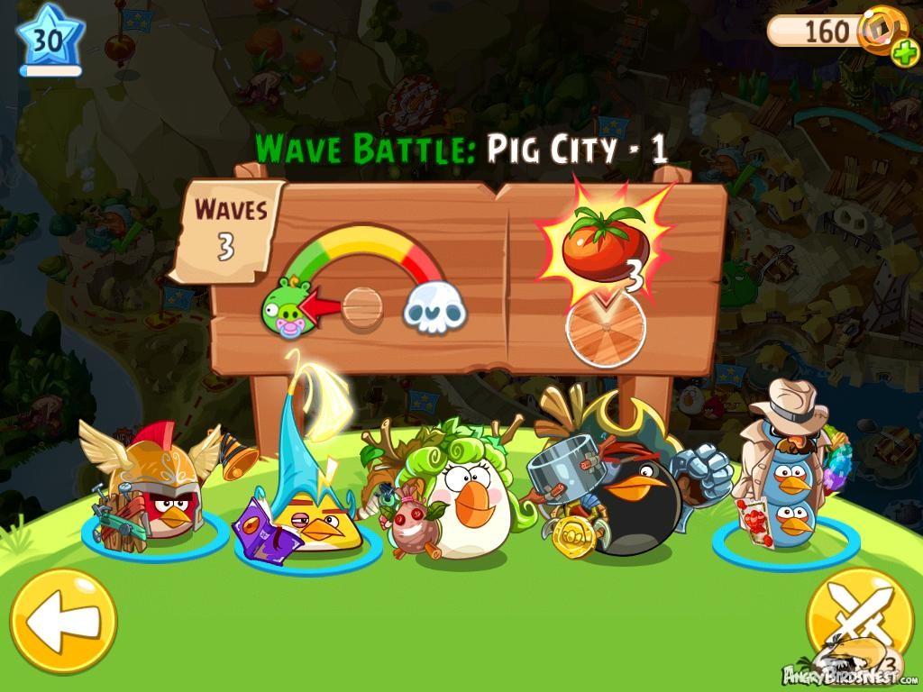 Angry Birds Epic Pig City Level 1 Walkthrough
