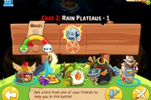 Angry Birds Epic Soothing Springs Rain Plateaus Level 1 Walkthrough | Chronicle Cave 2