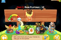 Angry Birds Epic Soothing Springs Rain Plateaus Level 10 Walkthrough | Chronicle Cave 2