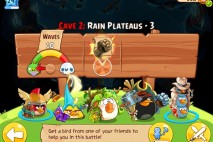 Angry Birds Epic Soothing Springs Rain Plateaus Level 3 Walkthrough | Chronicle Cave 2