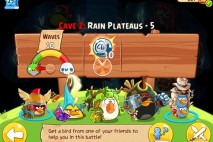 Angry Birds Epic Soothing Springs Rain Plateaus Level 5 Walkthrough | Chronicle Cave 2