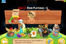 Angry Birds Epic Soothing Springs Rain Plateaus Level 6 Walkthrough | Chronicle Cave 2