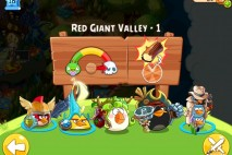 Angry Birds Epic Red Giant Valley Level 1 Walkthrough