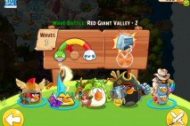 Angry Birds Epic Red Giant Valley Level 2 Walkthrough