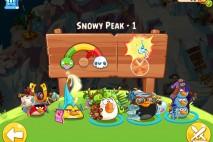 Angry Birds Epic Snowy Peak Level 1 Walkthrough