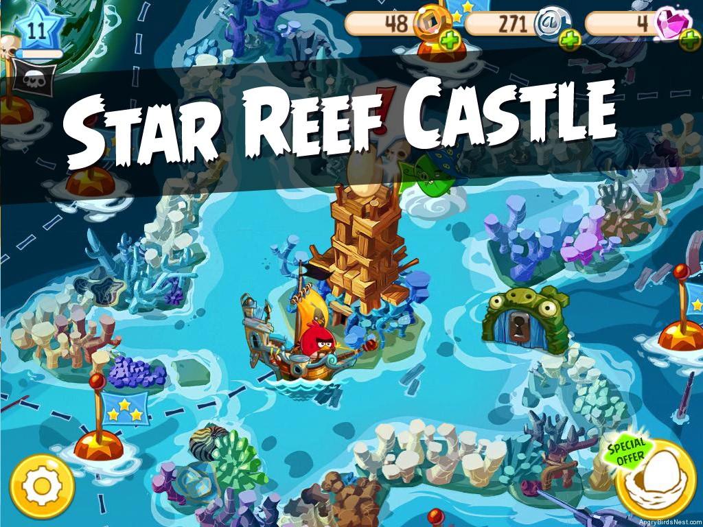 Angry Birds Epic Star Reef Castle Walkthrough Angrybirdsnest