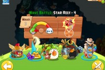 Angry Birds Epic Star Reef Level 4 Walkthrough