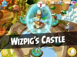 Angry Birds Epic Wizpig's Castle Walkthrough