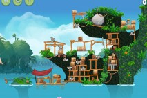 Angry Birds Rio Trophy Room Walkthrough Anchor Trophy
