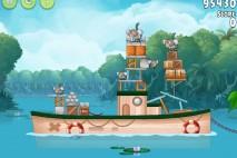 Angry Birds Rio Blossom River Walkthrough Level #1