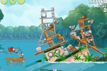 Angry Birds Rio Anchor #6 Walkthrough Level 10