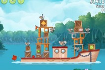 Angry Birds Rio Anchor #7 Walkthrough Level 12