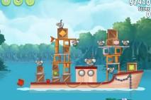 Angry Birds Rio Anchor #7 Walkthrough Level 12