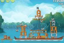 Angry Birds Rio Blossom River Walkthrough Level #15