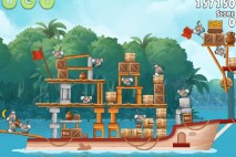 Angry Birds Rio Anchor #8 Walkthrough Level 16
