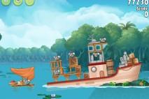 Angry Birds Rio Blossom River Walkthrough Level #18