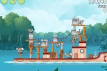 Angry Birds Rio Blossom River Walkthrough Level #2