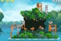 Angry Birds Rio Blossom River Walkthrough Level #4
