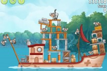Angry Birds Rio Anchor #3 Walkthrough Level 6