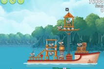 Angry Birds Rio Anchor #4 Walkthrough Level 8