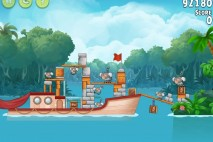 Angry Birds Rio Anchor #5 Walkthrough Level 9