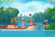 Angry Birds Rio Anchor #5 Walkthrough Level 9