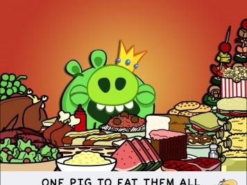 King Pig on Bitstrips