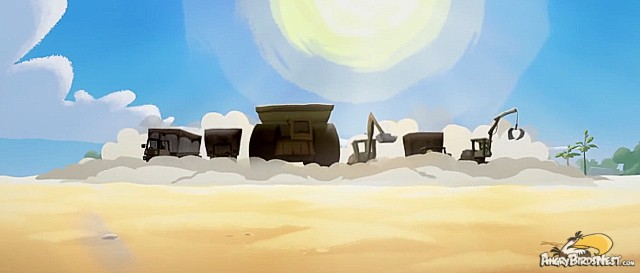 Angry Birds Toons Construction Vehicles