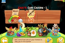 Angry Birds Epic Cure Cavern Level 1 Walkthrough | Chronicle Cave 4 | Endless Winter