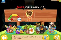 Angry Birds Epic Cure Cavern Level 10 Walkthrough | Chronicle Cave 4 | Endless Winter