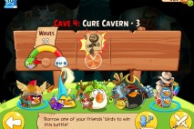Angry Birds Epic Cure Cavern Level 3 Walkthrough | Chronicle Cave 4 | Endless Winter
