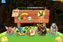 Angry Birds Epic Eastern Bamboo Forest Level 2 Walkthrough