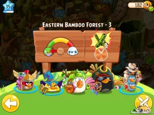 Angry Birds Epic Eastern Bamboo Forest Level 3 Walkthrough