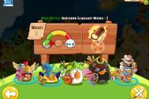 Angry Birds Epic Northern Slingshot Woods Level 2 Walkthrough