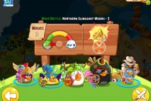 Angry Birds Epic Northern Slingshot Woods Level 3 Walkthrough