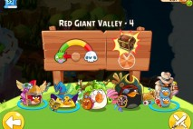 Angry Birds Epic Red Giant Valley Level 4 Walkthrough