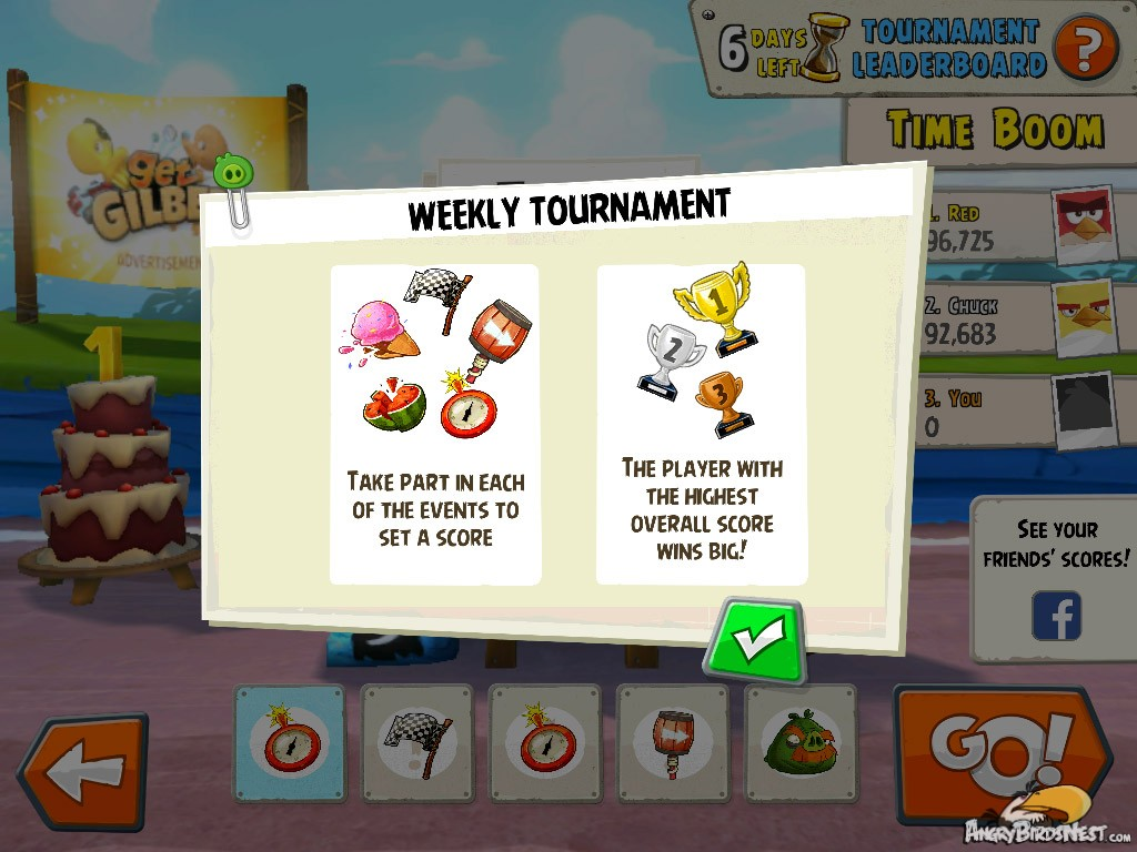 Weekly Tournament Instructions